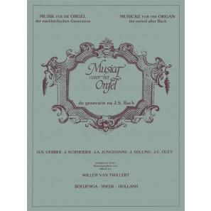 Musicq voor het Orgel: de generatie na J.S.Bach