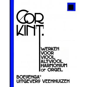 Werken voor viool, altviool & harmonium of orgel