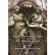 """Prélude, Choral varié et Fugue sur """"Veni redemptor gentium"""""""